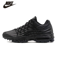 New Arrive Original NIKE Nike Men 's 2016 AIR MAX 95 ULTRA SE PRW Running Shoes Black Warrior