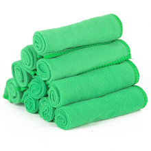 30* Green Micro Fiber Car Detailing Clean Soft Cloth Towel Duster Wash Practical(China)