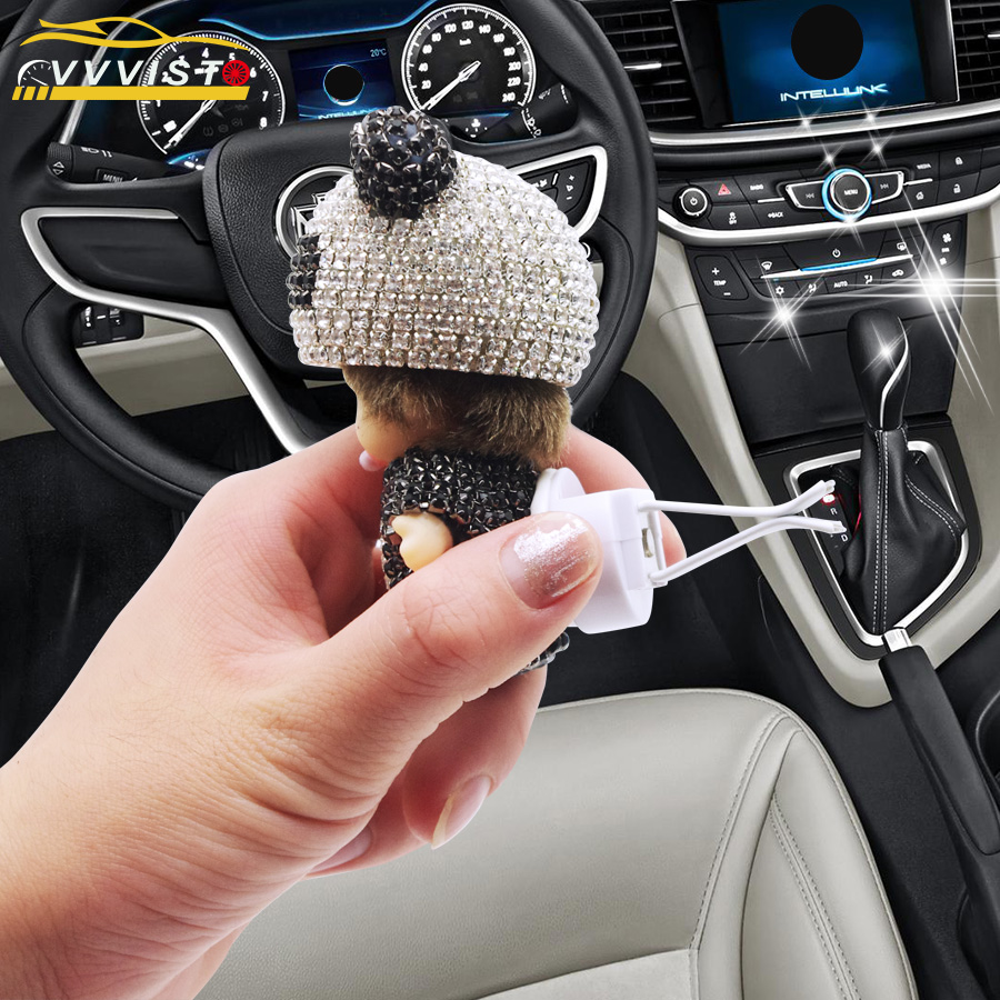 VVVIST 2018 Car Air Freshener Perfume Air Conditioner Outlet Perfume Clip With Diamond Decoration Car Air Freshener Perfume car perfume air freshener apple flavor 80g