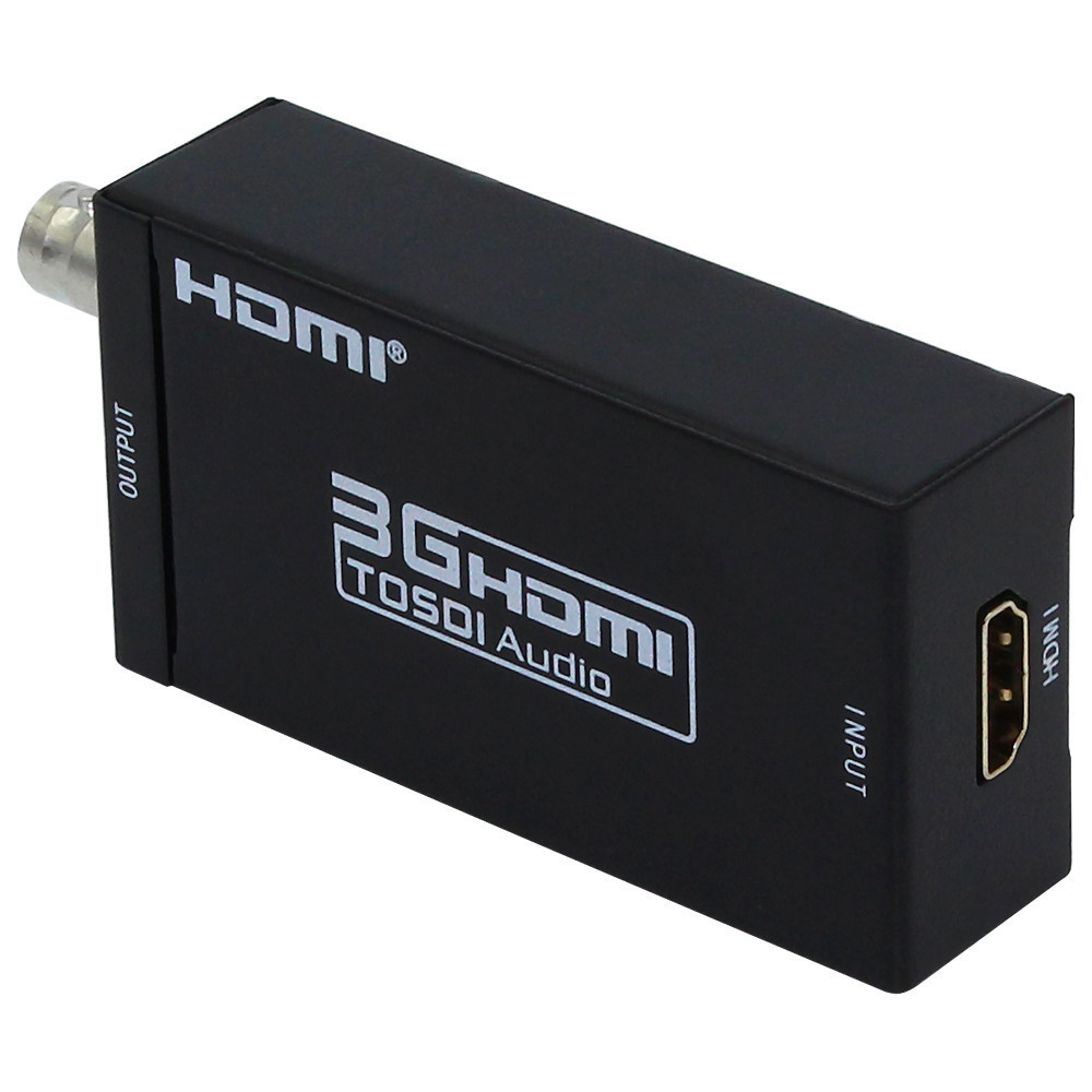 ФОТО MINI 3G HDMI to SDI Converter HD Video HDMI to 3G SDI Adapter 720P/1080P Free shipping