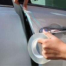Per Toyota Hyundai VW Jeep Nissan Universal Car Nano trasparente Door Guard Bordo di Protezione del Davanzale Del Portello Del Piatto Dello Scuff Striscia di Adesivo