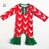 Aicton Angel Baby Christmas Rompers Newborn Baby Jumpsuit 2017 Full Sleeve Fall Winter 0 24M Factory