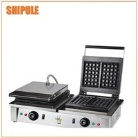 we have many types of small business waffle maker double waffle machine