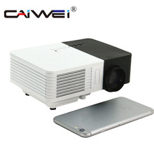 Cheaper CAIWEI Portable Mini LED Projector 1080p HD 100LM Outdoor Home Cinema Theater Movie TV Cartoon Video Game LCD Beamer for Kids