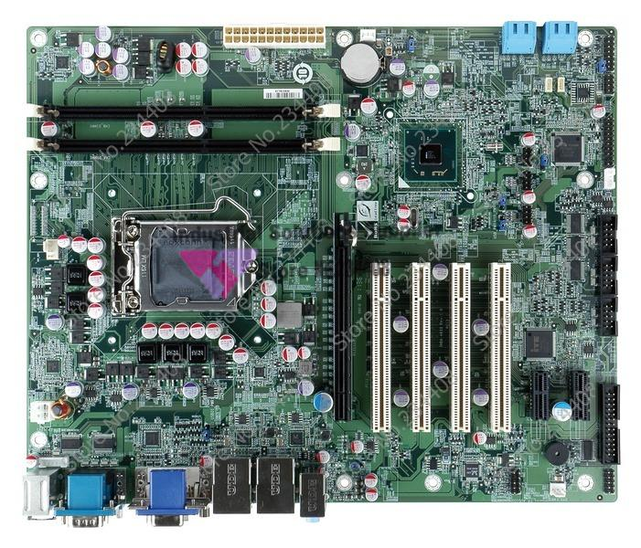 Industrial Motherboard Iei IMBA-H610 Atx Motherboard Twin Dual Display 6*Serial 4*PCI Slot 100% tested perfect quality the lady in the lake level 2 cd