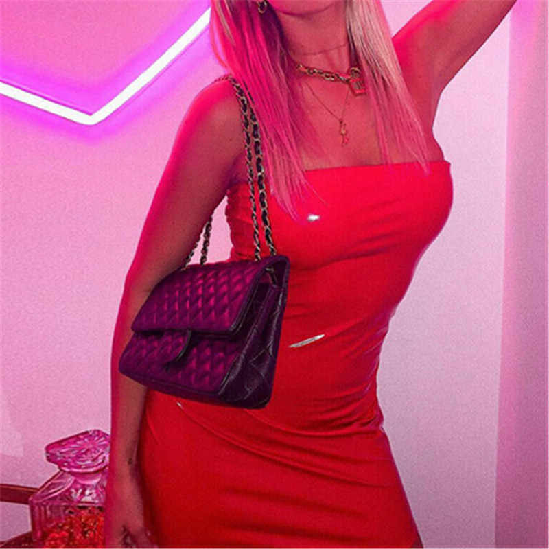 Nieuwe Dames PU Leather Sexy Jurk Vrouwen Vrouwelijke Wet Look Hollow out Strapless Slash Neck Bodycon Clubwear Mini Korte Potlood jurk