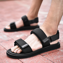 Sandals Men Luxury Black Casual Light Weight Outdoor Fashion Summer Beach Activities Footwear