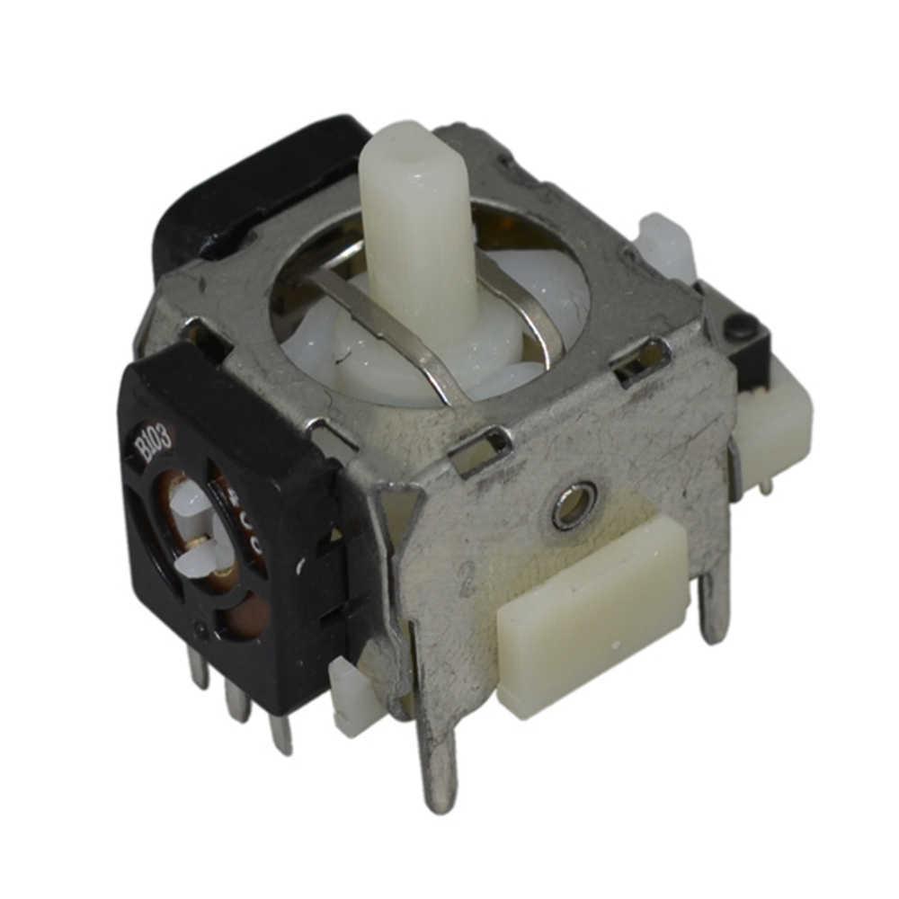 Części naprawa dla PS2 do konsoli XBOX 360 kontroler uchwyt rocker dla 3D analogowy Joystick trzymać kciuk kije przyciski losowy kolor