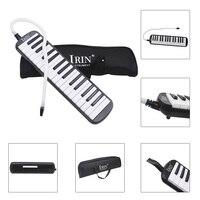 IRIN yeni stil 32 Piyano Tuşları siyah Melodika Enstrüman Müzik Severler için Taşıma Çantası ile Yeni Başlayanlar Hediye