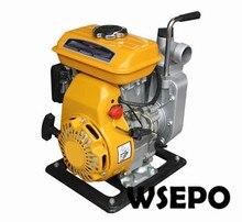 Фабрика Прямые Поставки! 2 «Портативный Алюминиевый Самовсасывающие Чистой Воды Насос на Питание От WSE-152F 2.5hp 97CC Gasline Двигатель