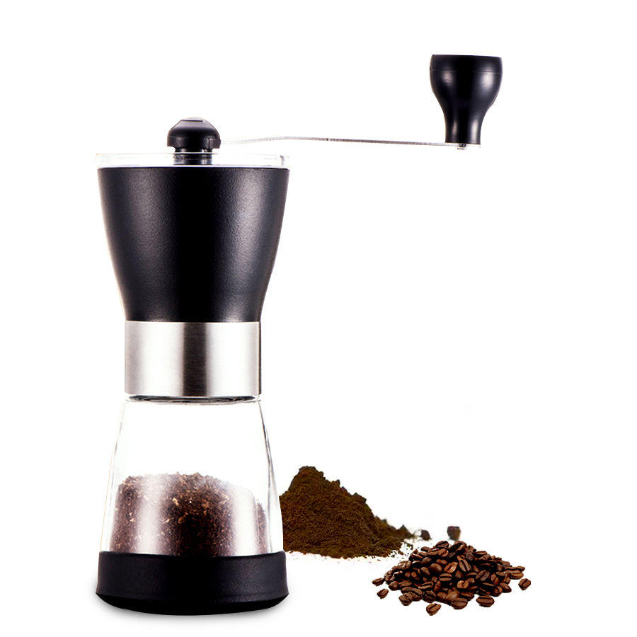 Handmade Stainless Steel Retro Coffee Machine Grinder Pepper Grinder Coffee Grinder Home Kitchen Mini Manual Hand Coffee Grinde stainless steel axle sleeve china shen zhen city cnc machine manufacture