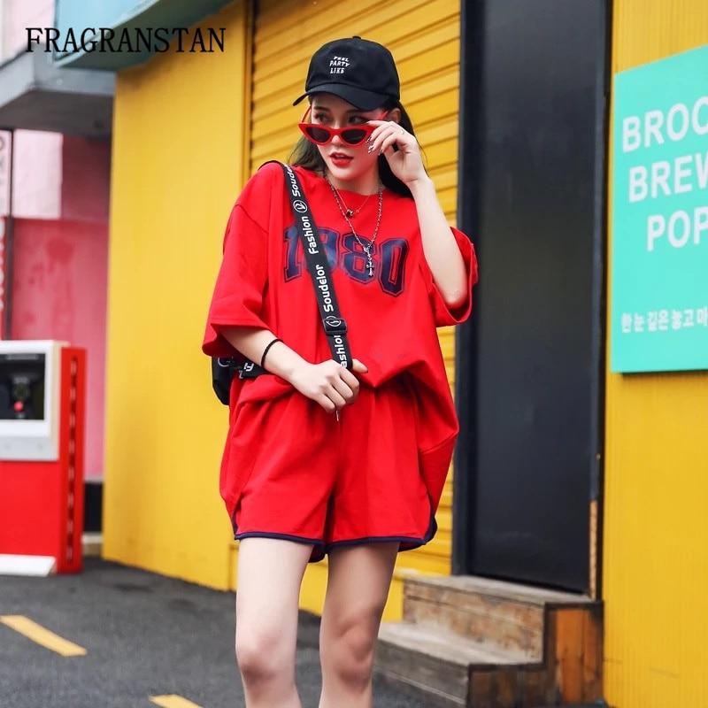 Número Piezas Moda Impresión De Sólido Red Elástica Cintura Sueltos green Q482 Cortos Tops cuello Set Pantalones Mujer Del Alta Señoras Dos Las O Verano Traje Calidad Color 0zOwp