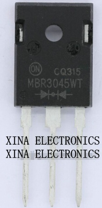 MBR3045WT <font><b>MBR3045</b></font> 30A 45V TO-247 ROHS ORIGINAL 10PCS/lot Free Shipping Electronics composition kit image