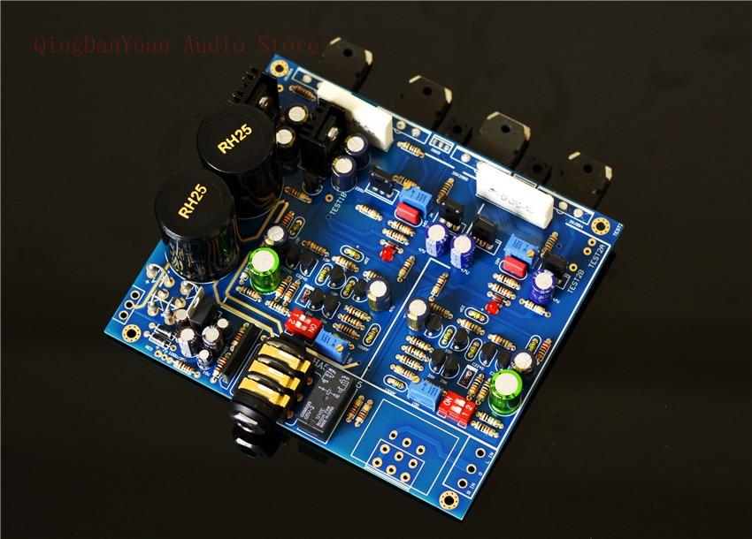 QHA4 Audio HIFI Class A FET Transistor Discrete Component Headphone Amplifier Assembled Board