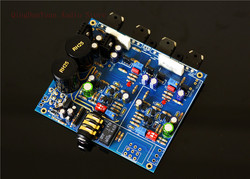 QHA4 Audio HIFI Class A FET Transistor discrete component Headphone Amplifier Assembled board