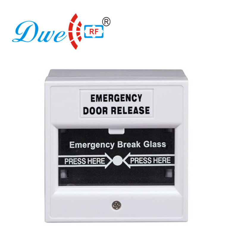 Купить с кэшбэком DWE CC RF  Security & Protection 12V emergency door exit button push button switch for access control system