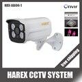 1280*720 P 1.0MP 4 pcs leds matriz Câmera IP ONVIF Impermeável Ao Ar Livre IR CUT Night Vision Plug and jogar, frete grátis