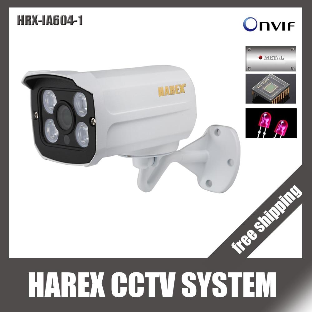 Камера Наружного видеонаблюдения H.264/H.265 POE, водонепроницаемая, 1080 P/720 P, 4 шт., светодиодная ONVIF, ночное видение, P2P IP|onvif waterproof|ip cameraip camera free shipping | АлиЭкспресс