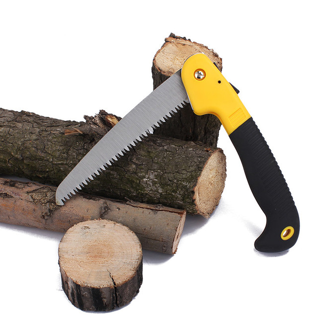 Mini Portable Saw Coarse Teeth Foldable Saw Outdoor Camping Tools Garden  Hand Tools Wood PVC