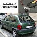 Автомобильный DVD Камера Заднего Вида Для Opel Astra F/Corsa/Vectra B/назад Парковочная Камера/HD CCD RCA NTST PAL/Фонарь Освещения Номерного Знака OEM