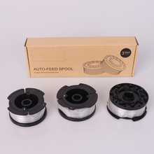 3pcs String Trimmer Line Autofeed Replacement Spool grass Change The Spools Compatible With Black Decker Lawn Mower Accessories craftsman automatic feed spool with nylon line replacement 71 85942