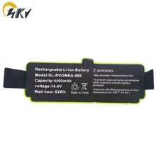 14.8v 4400mAh Li-ion Battery for iRobot Roomba Cleaner 600, 700, 800, 960,980 Series -600 620 650 700 770 780 800 880
