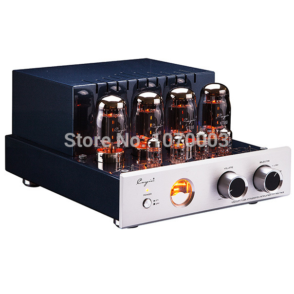 QUEENWAY CayinMT-45MK2 vacuum Tube amplifier class AB1 push-pull power amplifier TR~UL switch BIAS ADJ. 35W *2 EL34 or KT88