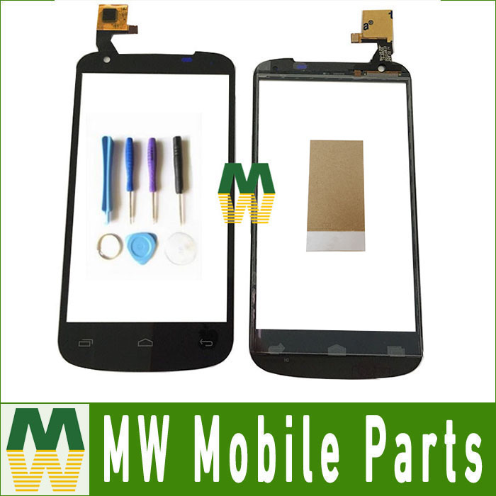 1PC/Lot Touch Screen Digitizer Touch Glass For Gigabyte Gsmart GS202 GS 202 Black Color With Tool&Tape