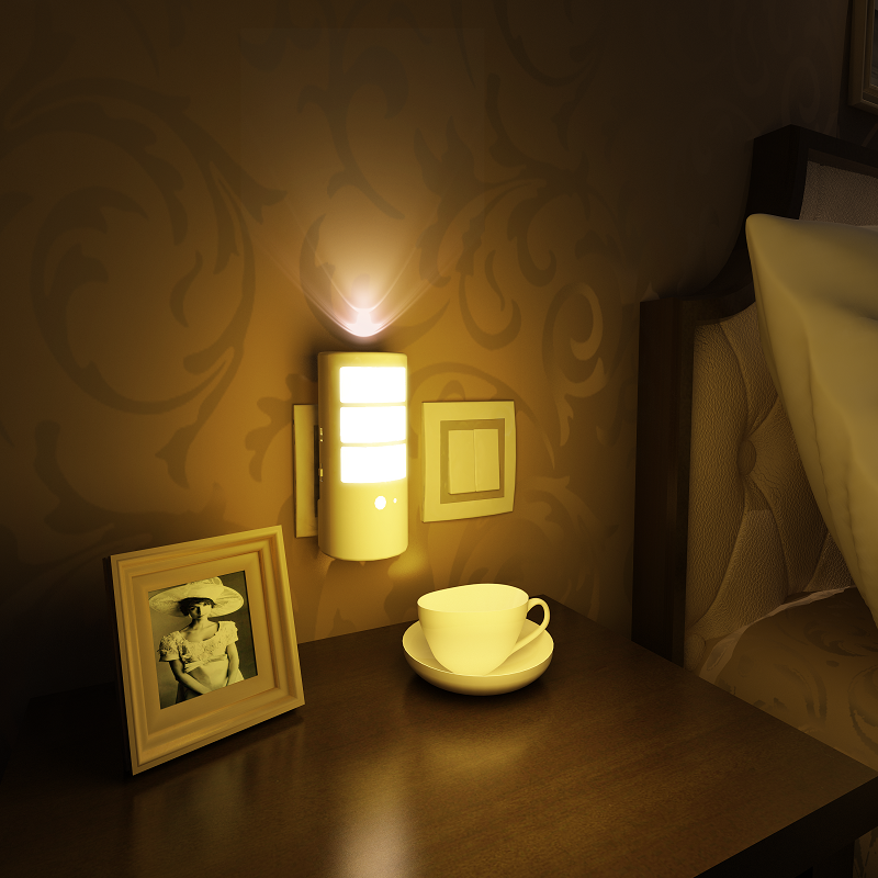 Miyole Led Night Light For Bedroom Sensor Led Wall Lamp