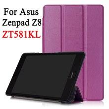Для 2016 Asus ZenPad Z8 ZT581KL (ZenPad 3 8.0 Z581KL) Бизнес мультфильм роспись печати искусственная кожа флип чехол