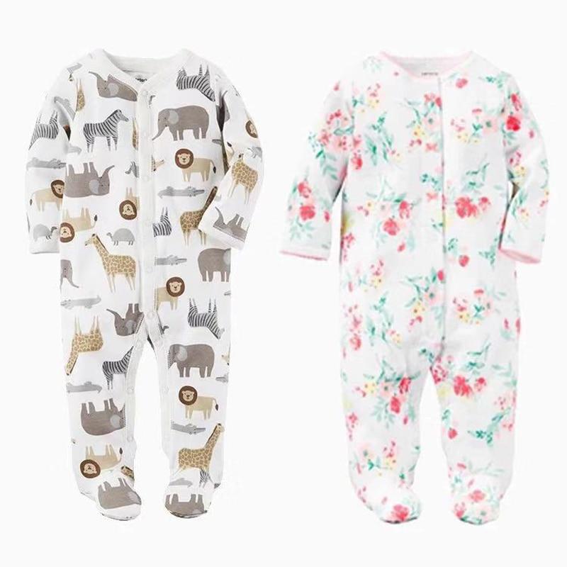 Baby Boys Girls Blanket Sleepers Newborn Babies Sleepwear  Infant Long Sleeve 0 3 6 9 12 Months Pajamas