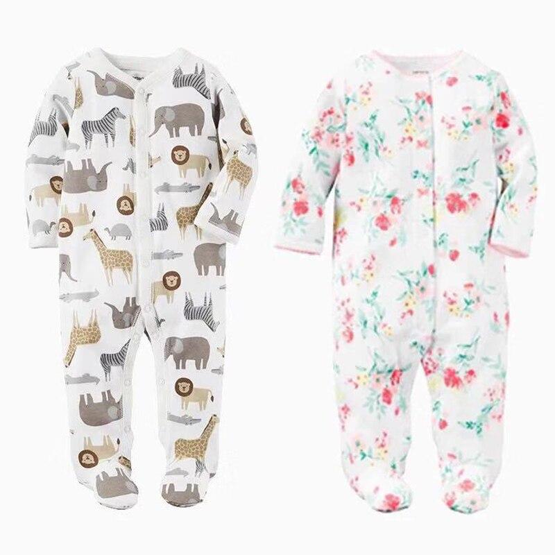 Bebé niños manta para niñas pijamas recién nacidos bebés ropa de dormir infantil de manga larga 0 3 6 9 12 meses Pijamas