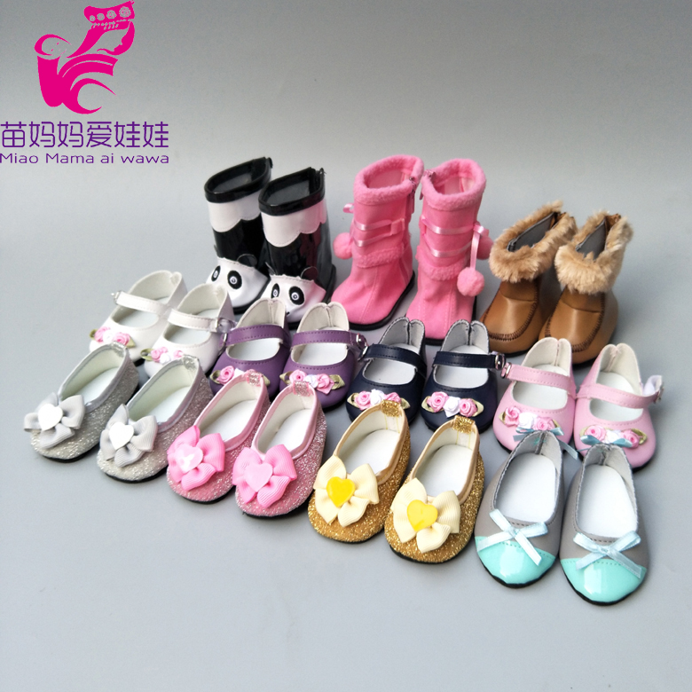 Bebe Doll Shoes For 40cm Born Baby Doll Shoes Sneackers Fits For 18inch Girl Doll Shoes Toy Boots Doll Accessory