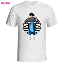 Goku Black In Zamasu Kai Clothes T Shirt Dragon Ball Super Anime Creative T-shirt Cool Fashion Brand Men Tshirt Novelty Tee