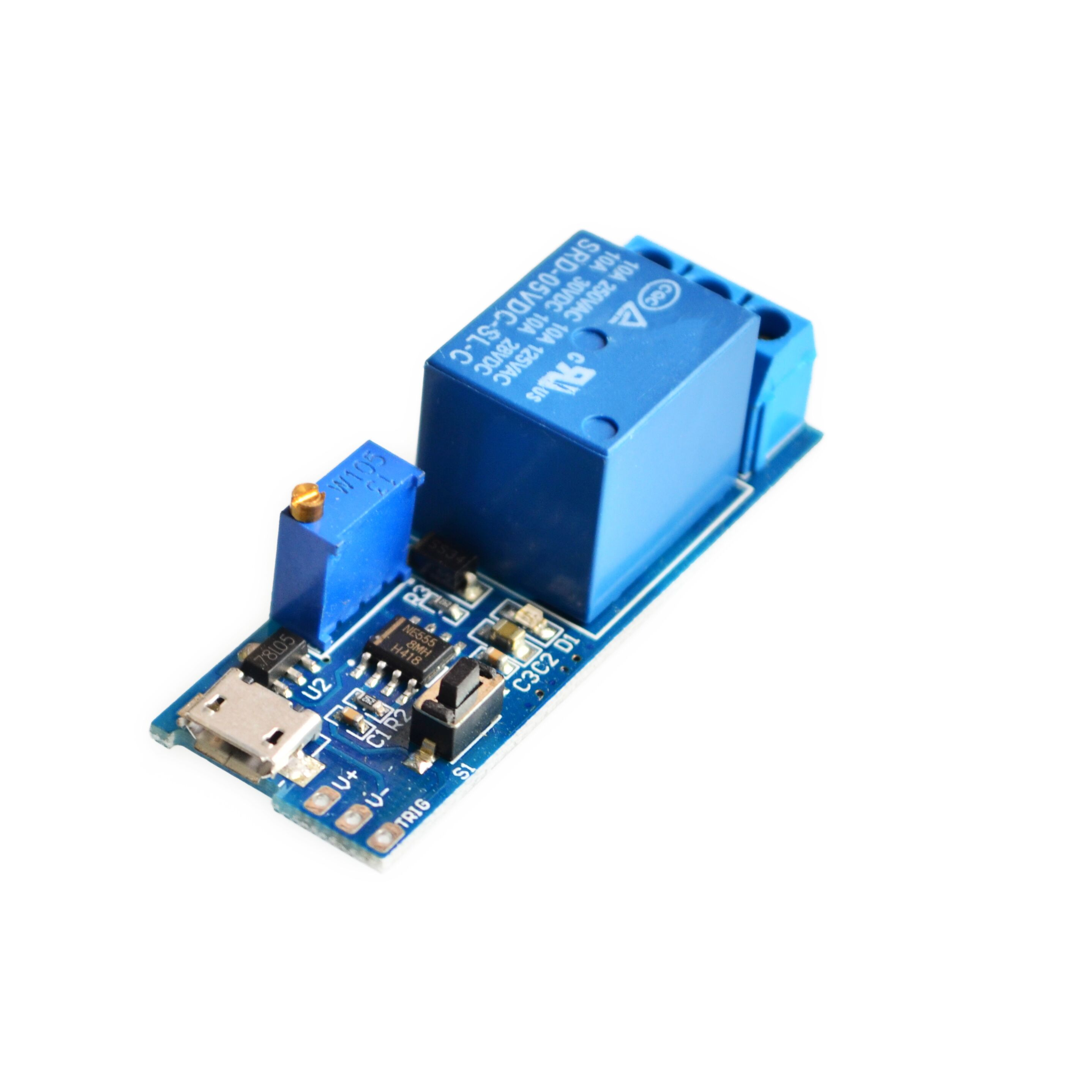 Detail Feedback Questions About 5v 30v Delay Relay Timer Module How To Build Toggle Circuit Using A 556 Trigger Switch Micro Usb Power Adjustable On Alibaba