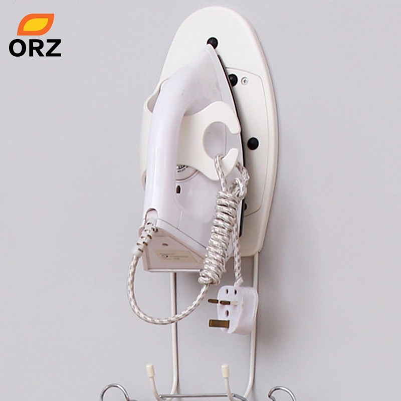ORZ Organizer Bathroom Storage Rack Hanging Hooks holder
