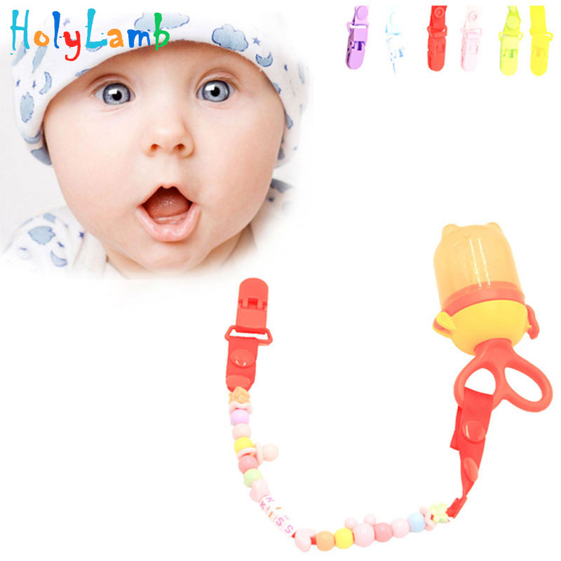 1Pcs Baby Pacific Chain Clip Feed Pacifiers Baby Bottle Nipple Chupeta Feeding Bottle Mamadeiras Pacific Nipple Baby Bottles