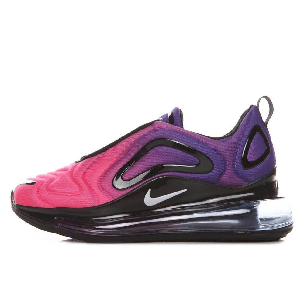official photos e4ec6 80afb Nike Air Max 720 femmes Low Top Chaussures Sports de Plein Air chaussures  de course Amorti Jogging baskets EUR 36 39 dans Chaussures de course de  Sports et ...