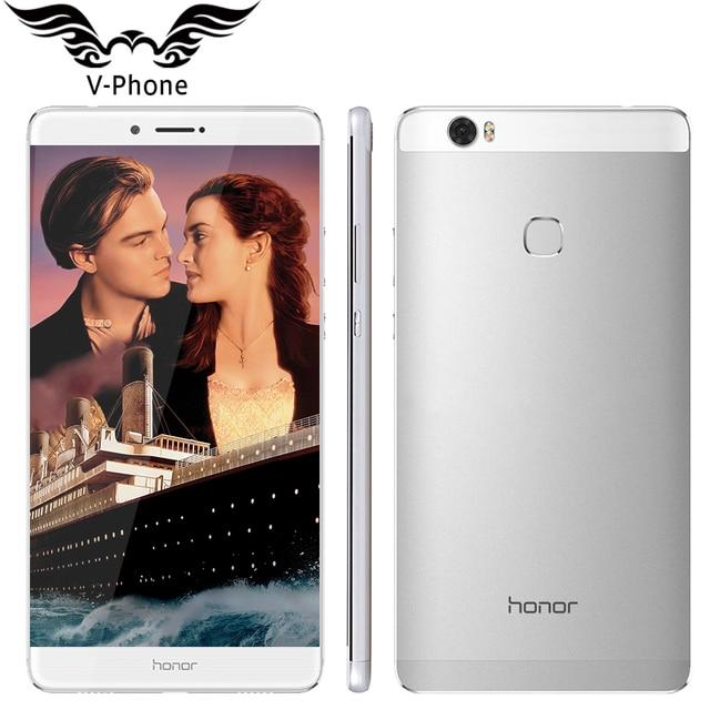 Оригинальный Huawei Honor Примечание 8 4 г LTE мобильный телефон Octa Core2.5 ГГц 6.6 дюймов 2560*1440 Экран 4 ГБ 64 ГБ 4500 мАч смартфон