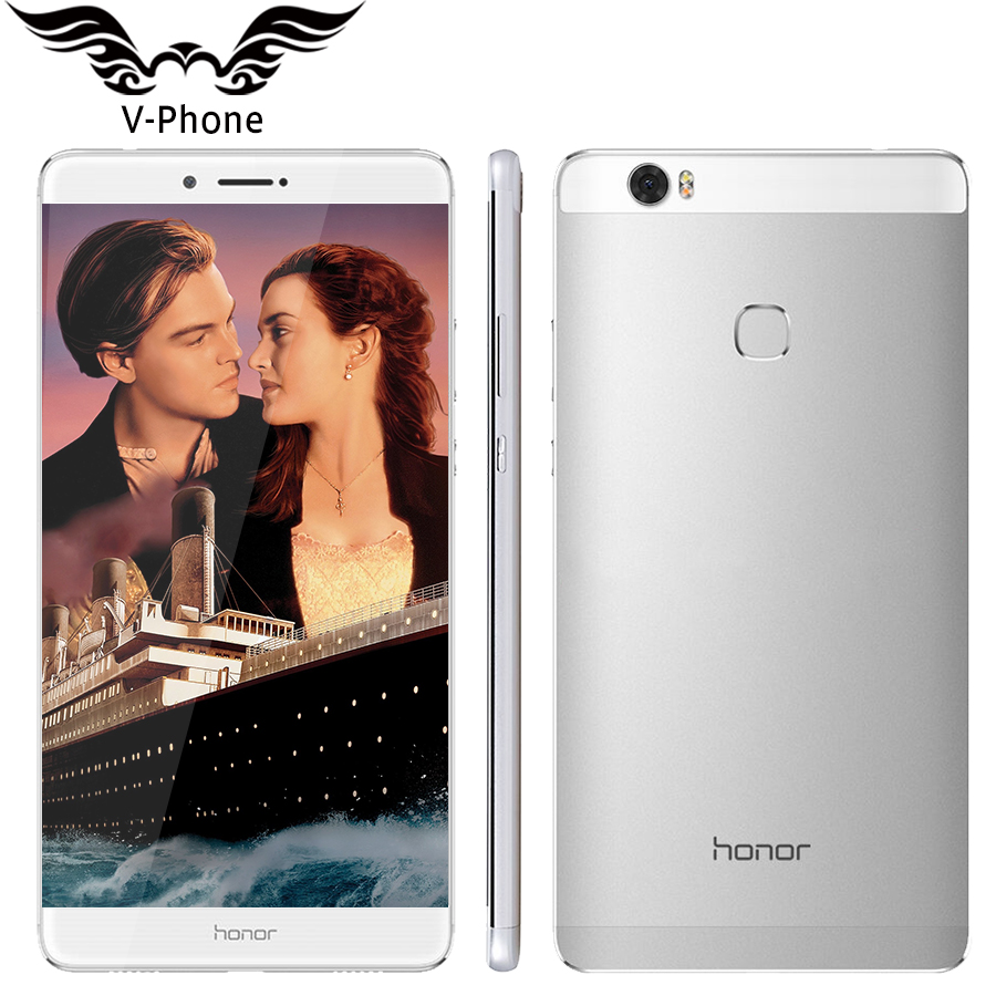 Original Huawei Honor NOTE 8 4G LTE Mobile Phone Octa Core2 5 GHz 6 6 inch
