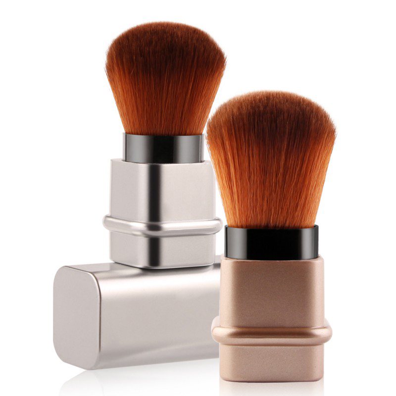 1Pcs High Quality Makeup Brush Retractable Foundation Cosmetic Blusher Face Powder Maquiagem Beauty Tools