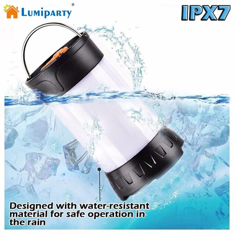 Lumiparty Camping Lantern Camping LED 350 Lumen Camping Light USB - Lampu mudah alih