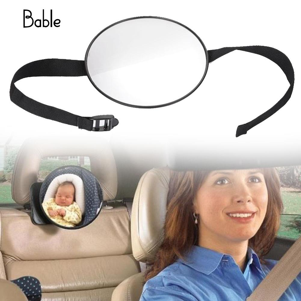 Adjustable Baby Seat Mirror Circle Square Gifts Infants Car Mirror Kids Kids Safety Baby Car Mirror