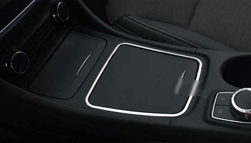 Para Mercedes Benz CLA W117 2013 2014 2015 caja de almacenamiento - Accesorios de interior de coche