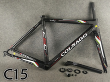 17 colors CARROWTER Colnago C60 full Bicycle Complete carbon road bike With R8000 groupset 50mm wheelset Novatec A271 hubs