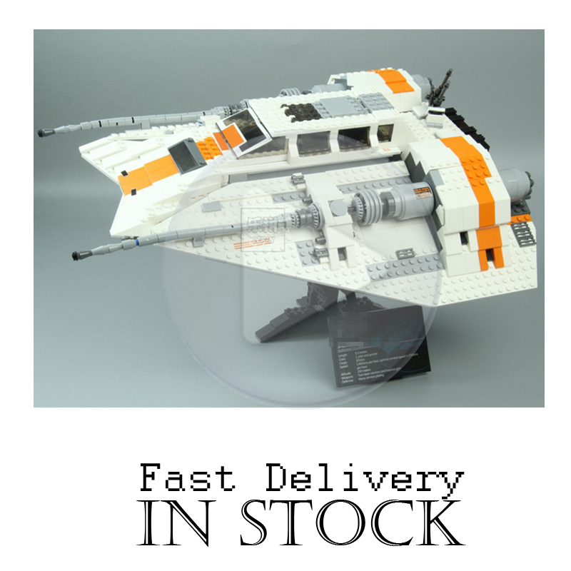 Lepin 05084 1457Pcs Star War Series The Rebel Snowspeeder Set Educational Building Blocks Bricks Toy for children Gifts 10129 for the duration the war years