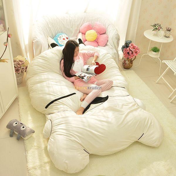 Fancytrader 270cm X 160cm Giant Soft Plush Stuffed Double Size Rabbit Bunny Mattress Carpet Tatami Bed, FT50680 (13)