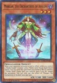 Yu Gi Oh Original UR Avalon Witch Morgan