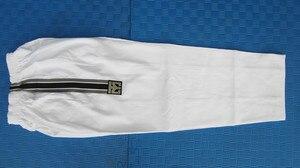 Image 5 - Mooto Master Taekwondo Dobok Trainers Slijtage Volwassen Witte Lange Mouwen Master Uniformen Taekwondo Leraar Uniformen
