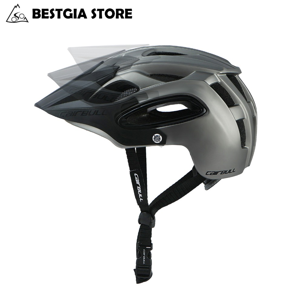 CAIRBULL All-terrai Cycling Helmet Casco Ciclismo PC+EPS Bicycle Mountain Helmet Men Women Outdoor Sports Safety Bike Helmet BMX 2018 cairbull lightweight bicycle helmet breathable road racing helmets sports safety all terrai cycling helmet m l black white